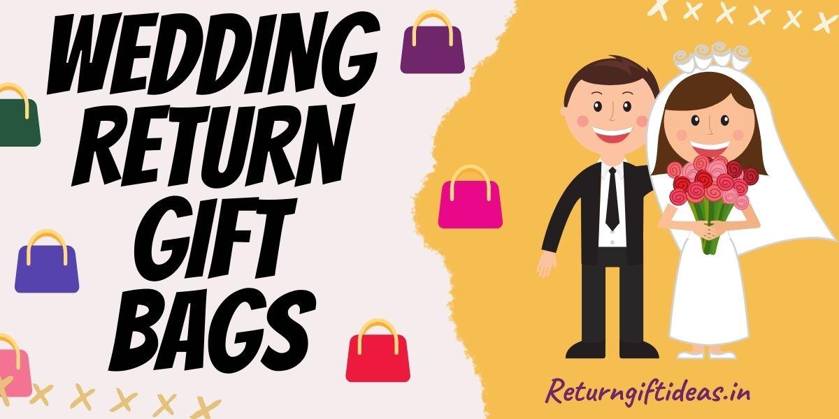 wedding return gift bags